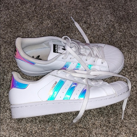27fa54bdb9c4d adidas Shoes - Iridescent Adidas Superstar